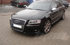Audi S8 481 PS Chiptuning / Softwareoptimierung im Onlinebetrieb
