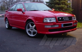 Audi S2 Coupe 420 PS Chiptuning / Softwareoptimierung im Onlinebetrieb
