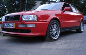 Audi S2 Coupe 480 PS Chiptuning / Softwareoptimierung im Onlinebetrieb