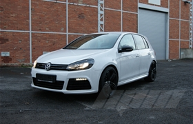 Golf 6 R 2.0 TFSI Chiptuning / Softwareoptimierung Abgasanlage 340 PS