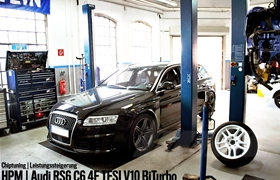 Chiptuning Berlin Audi RS6 730 PS
